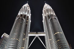 Twin Tower stockbilder