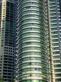 Twin tower exterior in kuala lumpur Stock Photography