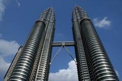 Twin Tower Kuala Lumpur, Malaysia Stockfoto