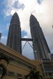 Twin Tower in Kuala Lumpur Lizenzfreie Stockfotos