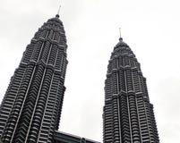 Twin Tower in Kuala Lumpur Stock Image