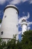 Twin Tower Lighthouse Stock Photos
