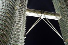 Twin tower Malasia Stock Image