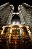 Twin Tower, Malaysia02 Royalty Free Stock Photo