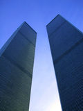 Twin Tower New York Stockbild