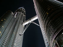 Twin Tower Petronas Stockfotografie