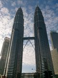 Twin tower Royalty Free Stock Photos