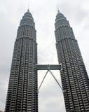 Twin Tower. Picture of Pertonas Twin Tower in Kuala Lumpur Malaysia Stock Photography