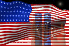 Twin Towers Stock Images