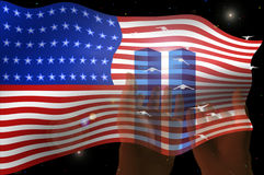 Twin Towers Stock Photo