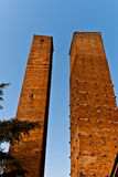 Twin towers Royalty Free Stock Photography