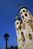 Twin Towers in Krakow, Poland Royalty Free Stock Photo
