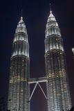 Twin towers in Kuala Lumpur Royalty Free Stock Image
