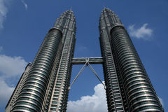 Twin towers Kuala Lumpur, Malaysia Stock Photo