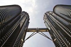 Twin Towers, Kuala Lumpur, Malaysia Stock Image