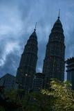 Twin towers in Kuala Lumpur, malaysia Stock Photo