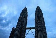 Twin towers in Kuala Lumpur, malaysia Stock Image