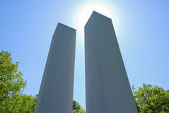 Twin Towers 911 Memorial Royalty Free Stock Images