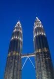 Twin towers Stock Photos