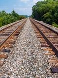 Twin Tracks Stock Image
