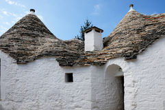 Twin Trullo in Alberobello Royalty Free Stock Image