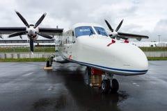 A twin-turboprop STOL utility aircraft, Dornier 228 New Generation. RUAG Aerospace Services GmbH. Stock Photos