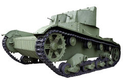 Twin-turreted light tank Royalty Free Stock Images