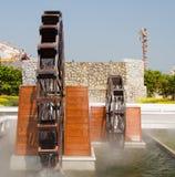 Twin water turbine Royalty Free Stock Image