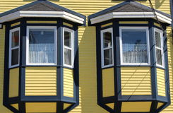 Twin windows Royalty Free Stock Images