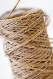 Twine. On a white background Royalty Free Stock Image