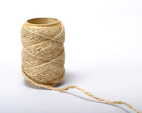 Twine 2. Burlap Twine stock photo