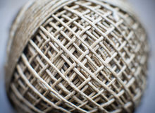 Twine ball twist connected world concept Royalty Free Stock Photography