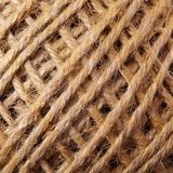 Twine clue texture Royalty Free Stock Images