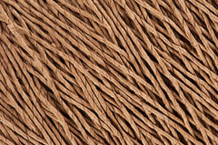 Twine clue texture. Hank of twine as background close up Stock Images
