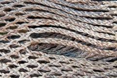 Twine manila rope Stock Image