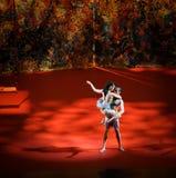 Twine-Modern Ballet:Trollius chinensis Stock Images
