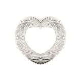 Twine Roll Heart Stock Images