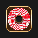 Twine roll icon Royalty Free Stock Photography