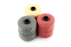 Twine rolls Royalty Free Stock Photos