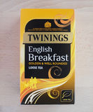 Twinings English Breakfast tea in London Stock Image