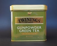 Twinings Green Tea Royalty Free Stock Images