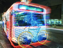 Twinkle bus in Minneapolis Royalty Free Stock Photography