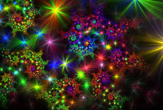 Twinkle Twinkle Little star. A psychedelic adventure with stars in mind Stock Photo