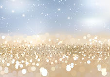 Twinkled Gold Sand Background Royalty Free Stock Photography