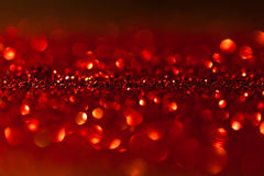 Twinkled red background - christmas Royalty Free Stock Photos