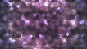 Twinkling Hi-Tech Cubic Diamond Light Patterns, Purple, Abstract, Loopable, 4K. Thank you for choosing this Background stock video