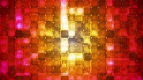 Twinkling Hi-Tech Cubic Diamond Light Patterns 07 stock video