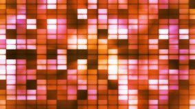 Twinkling Hi-Tech Cubic Smoke Light Patterns, Orange, Abstract, Loopable, 4K. Thank you for choosing this Background stock footage