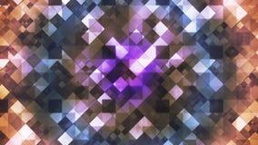 Twinkling Hi-Tech Diamond Light Patterns 03 stock video footage