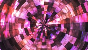 Twinkling Hi-Tech Grunge Flame Tunnel, Pink, Abstract, Loopable, 4K. Thank you for choosing this Background stock video